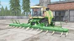 Krone BiG X 1100 vanilla for Farming Simulator 2017