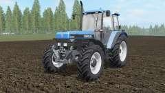 New Holland 8340 spanish sky blue for Farming Simulator 2017