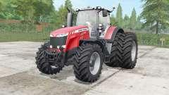Massey Ferguson 8727-8737 wheels selection for Farming Simulator 2017