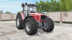 Massey Ferguson 6460-6495 deep carmine pink for Farming Simulator 2017