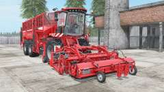 Holmer Terra Dos T4-40 light brilliant red for Farming Simulator 2017