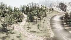Russian backwoods for MudRunner