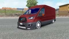 Ford Transit Jumbo Van for Euro Truck Simulator 2
