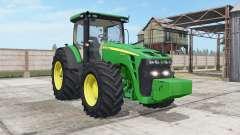 John Deere 8245R-8345R real GPS for Farming Simulator 2017