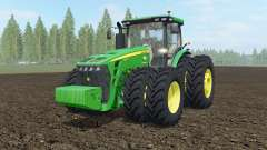 John Deere 8245R-8345R USA for Farming Simulator 2017