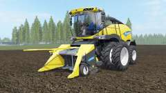 New Holland FR850 dual front wheels for Farming Simulator 2017