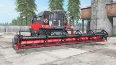 Torum 760 bright red color for Farming Simulator 2017