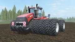 Case IH Steiger 1000 cinnabar for Farming Simulator 2017