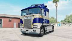 Kenworth K100E phthalo blue for American Truck Simulator