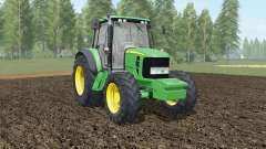 John Deere 6030&7030 Premium with weights for Farming Simulator 2017