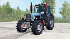 MTZ-1221 Belarus blue color for Farming Simulator 2017