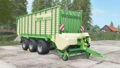 Krone ZX 550 GD chateau green for Farming Simulator 2017