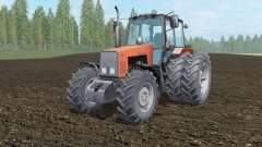 MTZ-1221 Belarus light orange color for Farming Simulator 2017
