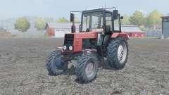 MTZ-82.1 Belarus manual ignition for Farming Simulator 2013