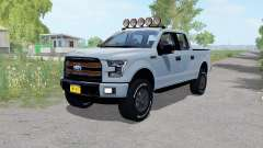 Ford F-150 Lariat SuperCrew gothic for Farming Simulator 2017