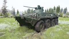 THE BTR-82A for MudRunner