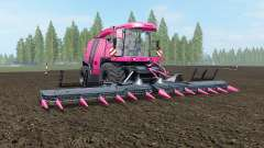 Krone BiG X 1100 Pink Edition for Farming Simulator 2017
