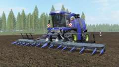 Krone BiG X 1100 governor bay for Farming Simulator 2017