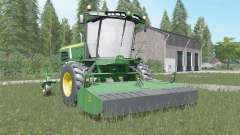 John Deere W260 shamrock green for Farming Simulator 2017