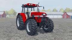 Case IH Maxxum 5150 boston university red for Farming Simulator 2013