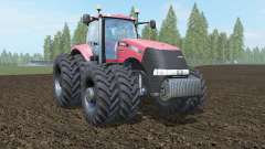 Case IH Magnum 380 CVT carmine pink for Farming Simulator 2017