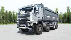 Volvo FMX 500 8x8 tipper for MudRunner