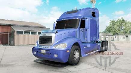 Freightliner Columbia vista blue for American Truck Simulator