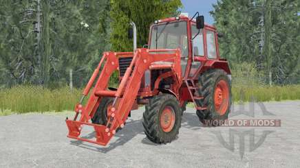 MTZ-82 Belarus tractor front loader for Farming Simulator 2015