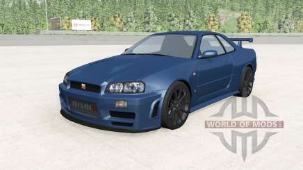 Nissan Skyline GT-R Nismo Z-Tune (R34) 2005 for BeamNG Drive