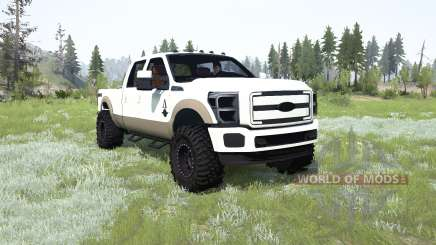 Ford F-350 King Ranch Crew Cab for MudRunner