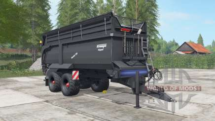 Krampe Bandit 750 gravel for Farming Simulator 2017