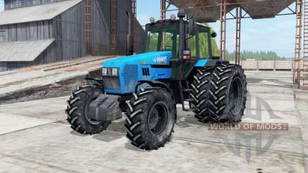 MTZ-Belarus 1221.2 dual rear wheels for Farming Simulator 2017