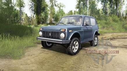 Lada Niva (2121) for MudRunner