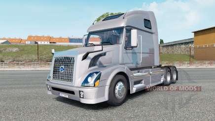 Volvo VNL 670 gainsboro for Euro Truck Simulator 2