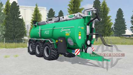 Samson PGII 27 munsell green for Farming Simulator 2015