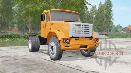 ZIL-541730 bright orange color for Farming Simulator 2017