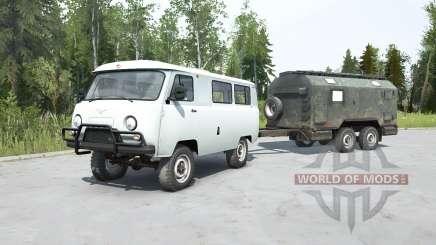 UAZ-2206 for MudRunner