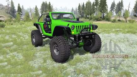 Jeep Wrangler (JK) Trailcat for MudRunner