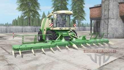 Krone BiG X 1100 buɳker capacity for Farming Simulator 2017