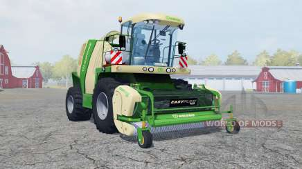 Krone BiG X 1100 wheel options for Farming Simulator 2013