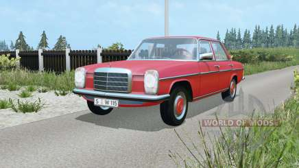 Mercedes-Benz 220D (W115) 1973 for Farming Simulator 2015