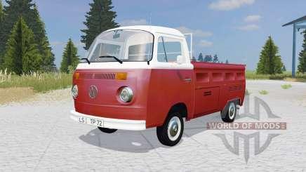 Volkswagen Typ 2 pritschenwagen (T2b) for Farming Simulator 2015