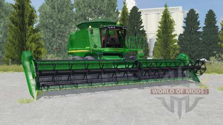John Deere 9770 STS la salle green for Farming Simulator 2015