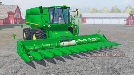 John Deere S690i with cutter for Farming Simulator 2013