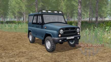 UAZ hunter (315195) animated elements for Farming Simulator 2017