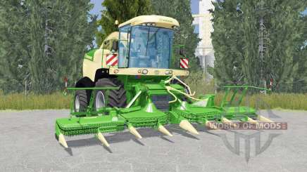Krone BiG X 580 liᶆe green for Farming Simulator 2015