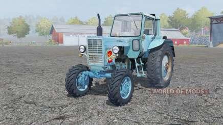MTZ-80, Belarus is moderately blue color for Farming Simulator 2013
