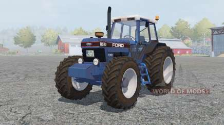 Ford 8630 Powershift cyan cornflower blue for Farming Simulator 2013