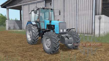 MTZ-1221 Belarus blue Okas for Farming Simulator 2017
