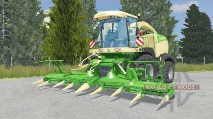 Krone BiG X 580 lime green for Farming Simulator 2015